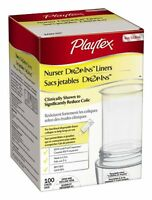 6 Pack - Playtex Drop-ins Pre-sterilized Diposable Liners, 4oz 100 Per Package