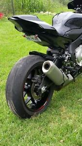 Details About Yamaha R1 Fender Eliminator Tail Tidy Black Front Facing Nts 2015 2019
