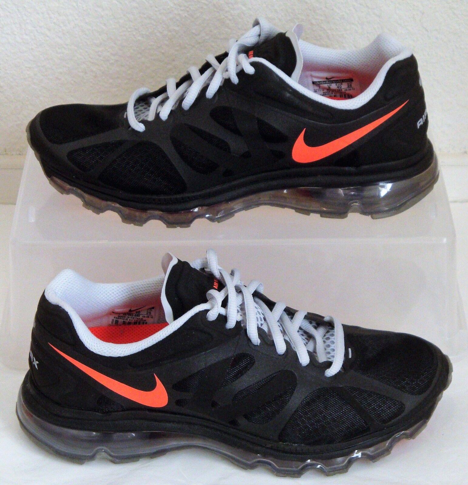 New Nike Shoes Air Max 2018 Black Crimson Mens US Size 7 CM 25