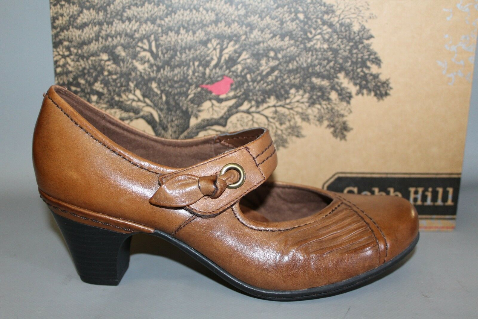 NEW Women's Cobb Hill Sadie Tan Leather Comfortable Supportive Dress shoes