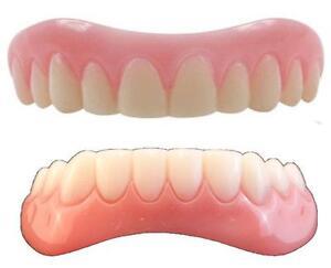 Instant Smile Teeth SMALL  top & BOTTOM SET Veneers Fake Cosmetic Photo Perfect