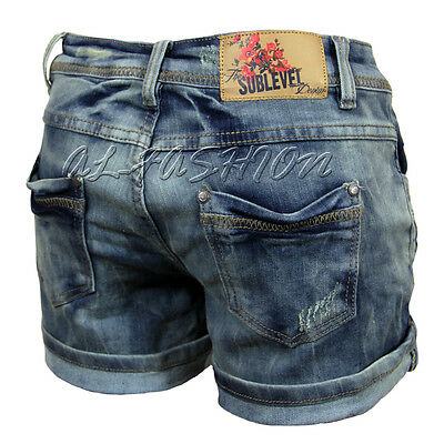 SUBLEVEL  JEANS-SHORTS HOTPANTS Gr.XS-XL