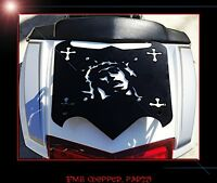 Victory Cross Country, Cross Roads Blessed Biker Trunk Luggage Rack Usa Made