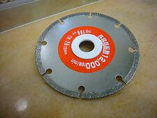 100mm Schmuck Diamant Glas FLIESEN Cut Off Wheel Trennscheibe Schleifscheibe