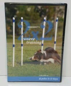 Susan-Garrett-039-s-2x2-Weave-Training-2-Disc-DVD-Set-2008-NEW-SEALED