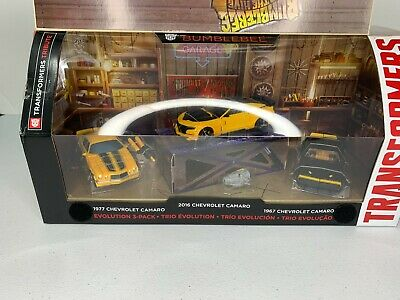 Hasbro Transformers The Last Knight Tribute Bumblebee 3 Pack The Hive VHTF RARE