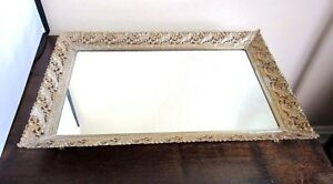 Large-vanity-mirror-tray-with-brass-filigree-frame
