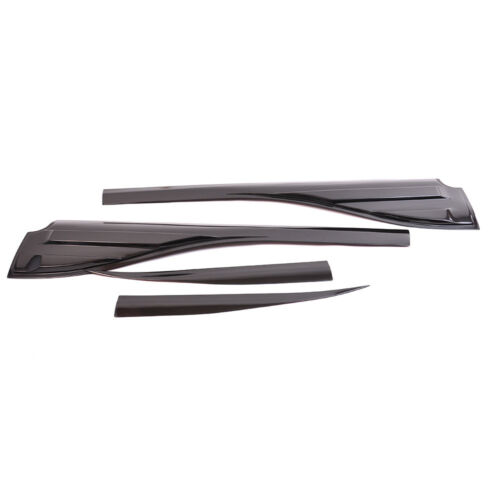 2015-18 Ford Ranger T6 Mk2 Side Door Window Cladding Trim vent Protection