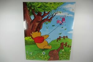"""Encapsulated Disney Winnie the pooh piglet been blown away Poster 20 x 16 """""""