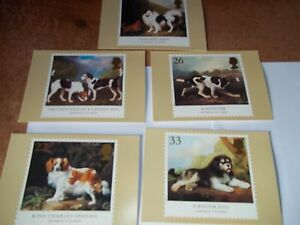 Dogs-8-January-1991-PHQ-132-set-Royal-Mail-Stamp-Card-Series-FREE-POST