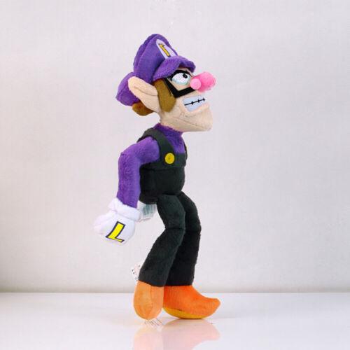 2pcs Super Mario Bros Odyssey Mario and Waluigi Soft Plush Toy for Kids Gift