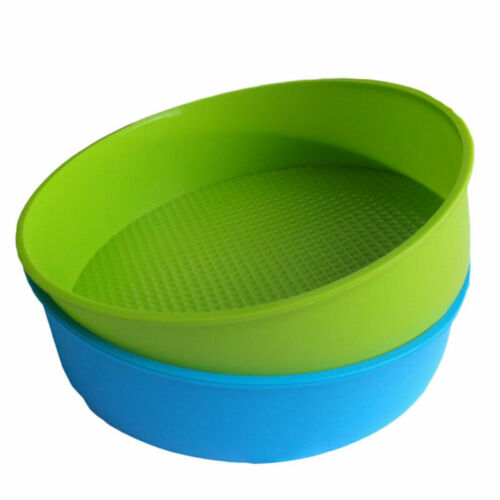 10 inch Silicone Round Cake Mould Muffin Bread Tray Mold Baking Pan Charm