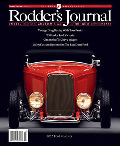 No. 64 Newsstand Cover B 1932 Ford Roadster RODDERS JOURNAL