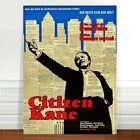 """Stunning Vintage Movie Poster Art ~ CANVAS PRINT 8x10"""" Citizen Kane"""