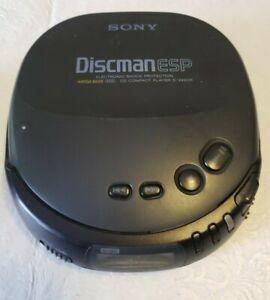 Sony D-242CK Discman ESP Portable CD Player Walkman Mega Bass Shock Protection