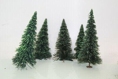 Traccia G Conifere Verde Circa 21 Cm Di Altezza 5 Pezzi La Raccolta Per Lgb (js7611). O-mostra Il Titolo Originale
