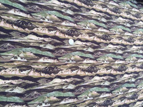 per metre dress fabric Liberty Silk Crepe 100/% sewing /'Manning/' Green