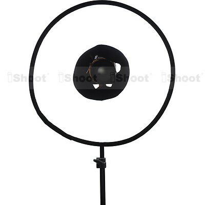 "New-Version 18"" Easy-fold Macro Ring Speedlight Flash Softbox Diffuser Reflector"