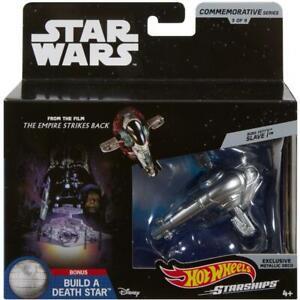Hot-Wheels-Star-Wars-Commemorative-Series-Boba-Fett-039-s-Slave-1-Starship