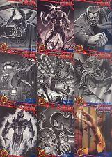 SPIDER-MAN 1997 FLEER U PICK BLUE FOIL PARALLEL INSERT CARDS 5 FOR $4.99 MA