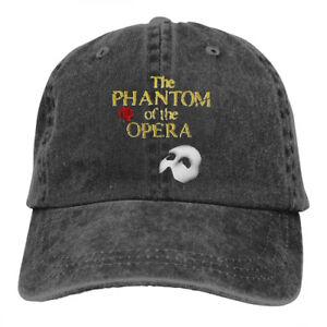 The-Phantom-Of-The-Opera-Logo-cowboys-Snapback-Baseball-Hat-Adjustable-Cap