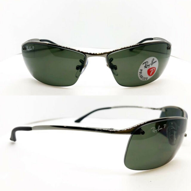 edbb3cf9be Ray-Ban Men s Polarized Sunglasses Rb3183 63 Mm for sale online