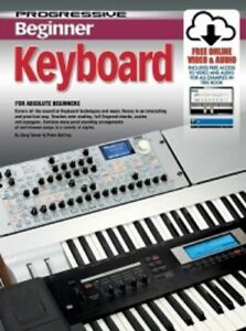 PROGRESSIVE-BEGINNER-KEYBOARD-Book-amp-Online-Media