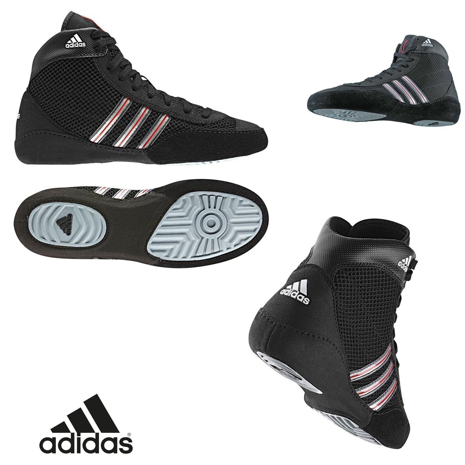 Adidas combat speed III scarpe wrestling lotta boxe submission mma fitness cross