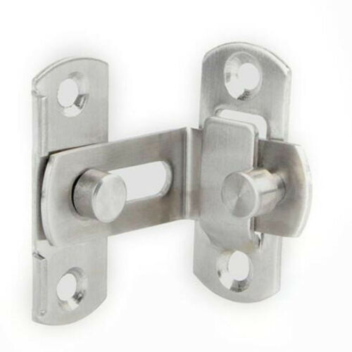 Large 90 Degree Right Angle Door Latch Buckles Curved Latch Bolts Lock MA