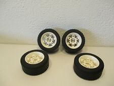 1 x Lego Technic Car Vehicle Wheel Tyre 68.8x36 H Black Solo Engineering 4189326
