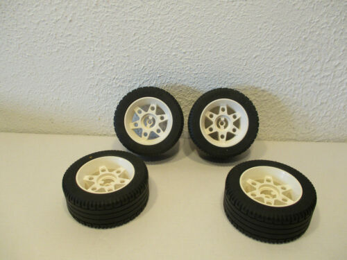 4 Lego Technik Technic Rad Räder Reifen mit Felge 81,6 x 34 ZR F8 // 2