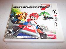 Mario Kart 7 (Nintendo 3DS) XL 2DS Game w/Case & Manual