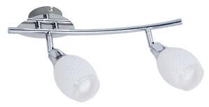 LED-Deckenstrahler-Wandspot-Roma-2-flammig-Glas-Wandspor-LED-Deckenspot