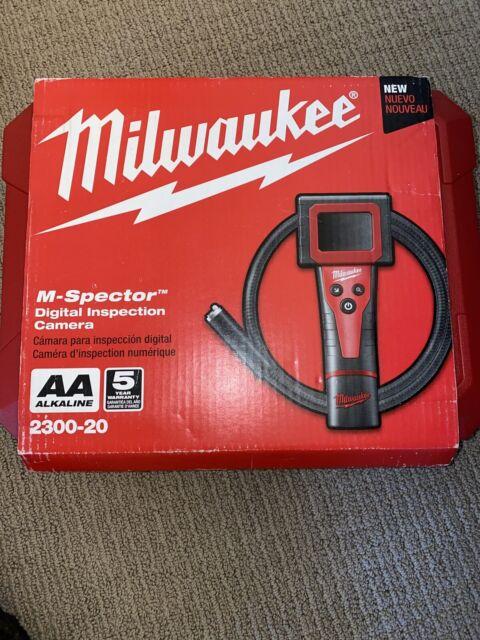 Milwaukee 2300-20 6v Digital Inspection Camera in Hard Case for sale online
