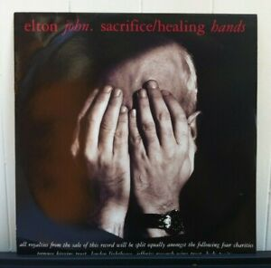 Elton-John-Original-12-034-Vinyl-Single-of-Sacrifice-and-Healing-Hands-UK-EJS-2212
