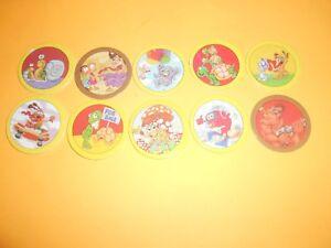 Juste 124 Pogs Pog Caps Milkcaps Flippo : Lot De 10 Hoppies Gagner Une Grande Admiration