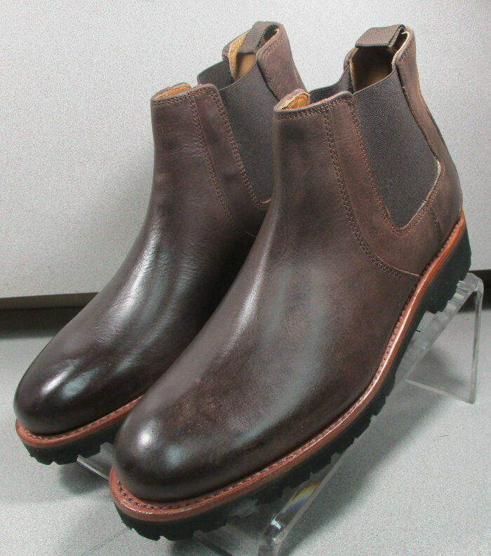 301856 TMSBT50 Men's shoes Size 12 M Brown Leather Boots H.S. Trask