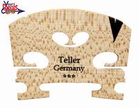 Teller *** Violin Bridge 3/4  Ebony  Insert  Fitted