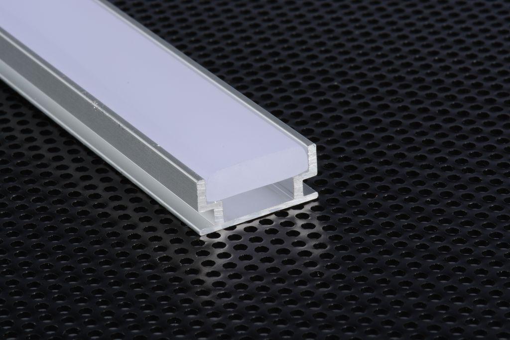 3m 3metri 1908 Profil Aluminium begehbar für Streifen STRIP LED Hebel 3mt | Erschwinglich