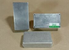 "3 Pro's Kit PEDAL ENCLOSURES 203-125B Box Enclosure 4.76""x2.60""x1.39"" Aluminum"