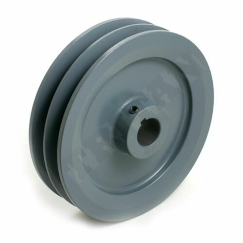 """2AK23 X 1  TTN Two Groove Cast Iron Sheave for /""""4L/"""" or /""""A/"""" Belts"""