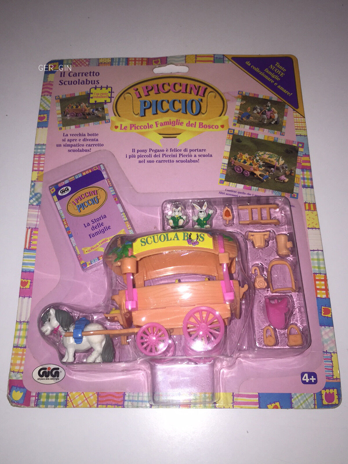 TEENY WEENY FAMILIES   SCHOOL BUS OLD OLD OLD   VIVID 97   NEW MOC    ITSY BITSY POLLY 0a1e22