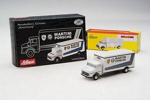 Schuco Piccolo / Martini Racing: Transporteur Mercedes-benz L322 # shu05864