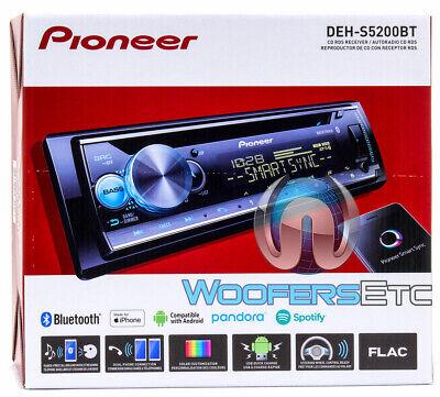 Pioneer DEH-S5200BT Single DIN Bluetooth USB//CD//MP3 Car In-Dash Receiver