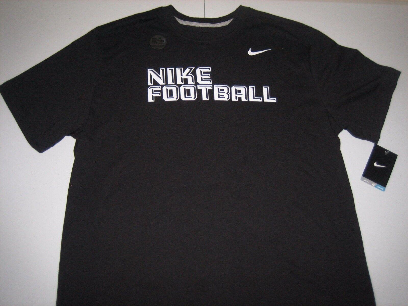al menos Pepino S t  Nike Football Dri-Fit Performance T-Shirt Black/White Men's XL BNWT! for  sale online