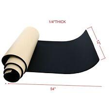 14x 12 X 54 Neoprene Sponge Foam Rubber Sheet Roll With Adhesive Foam Rubber