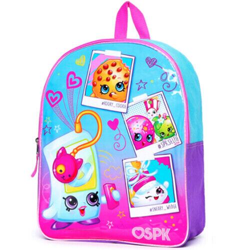 """Shopkins 15/"""" Girls Backpack"""
