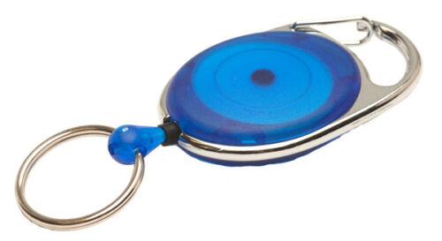 Blau Jojo REKO 220 mit Schlaufenclip und Schlüsselring