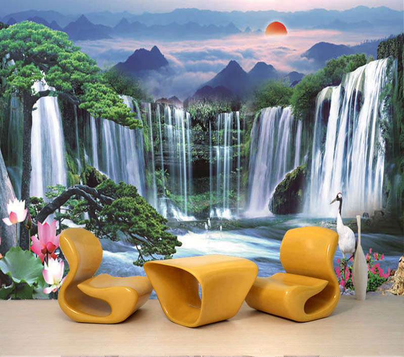 Voluptuous Hill 3D Full Wall Mural Photo Wallpaper Printing Home Kids Decoration