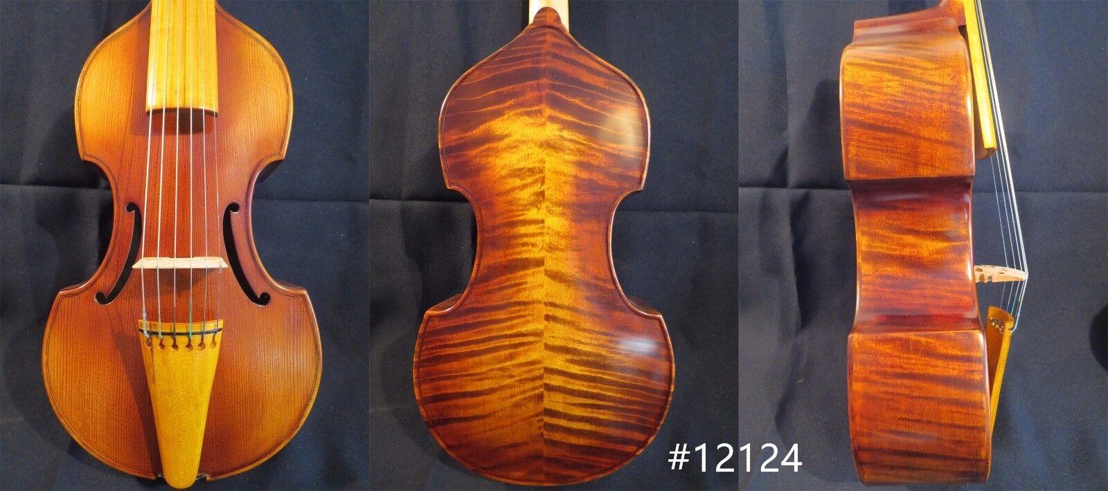 Canción de estilo barroco barroco barroco Marca Marca maestro 6 Cuerdas 13 3 4  púrpura da gamba  12124 b5928e